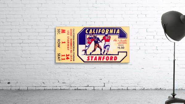 1964 California vs. Stanford
