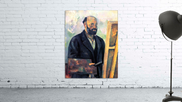 Self-portrait with Pallette by Cezanne