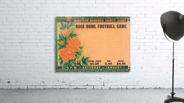1938 Rose Bowl California Win