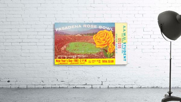 1961 Rose Bowl Washington Win