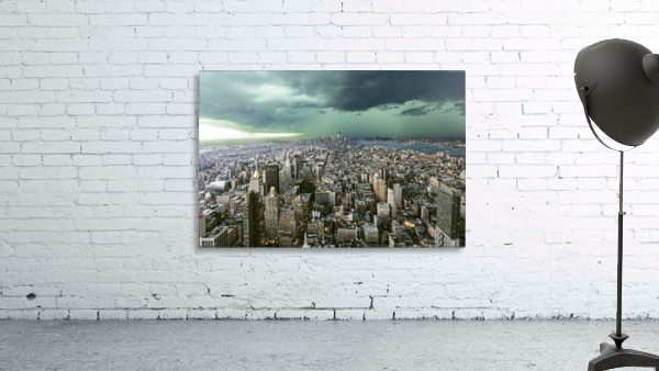 New-York under storm by Pagniez