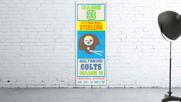 1980 Baltimore Colts vs. Pittsburgh Steelers