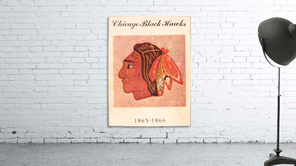 1965 Chicago Black Hawks Art
