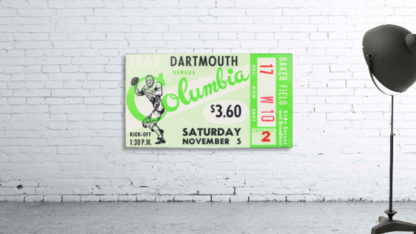 1949 Dartmouth vs. Columbia