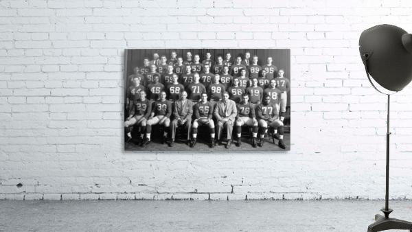 1954 University of Michigan Football Team Photo