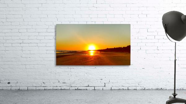 Sunset at the Atlantic Shore