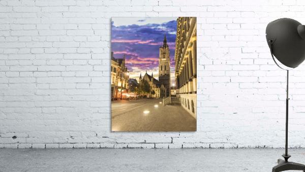 Sunset in Belgium