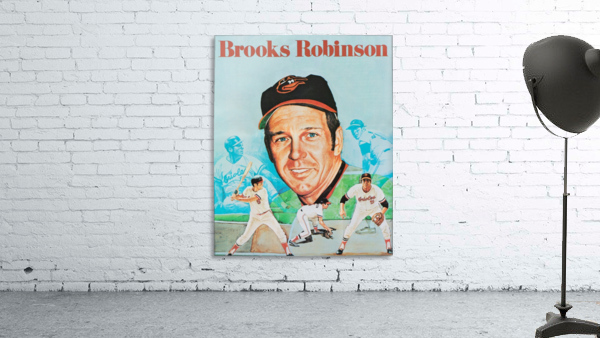 1974 Brooks Robinson Poster