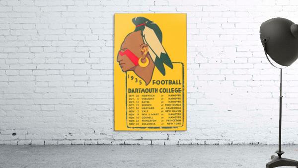 1935 Dartmouth Indians Football Poster