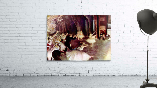 Stage trial by Degas