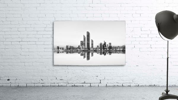 Abu Dhabi Urban Reflection
