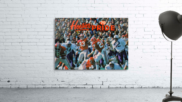 1979 Indiana Hoosiers Football Art