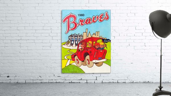 1980 Atlanta Braves Poster