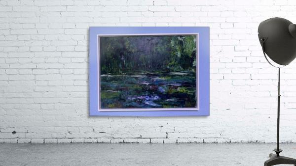 A swamp Concert  Acryl on Canvas 80x60  FRAMED