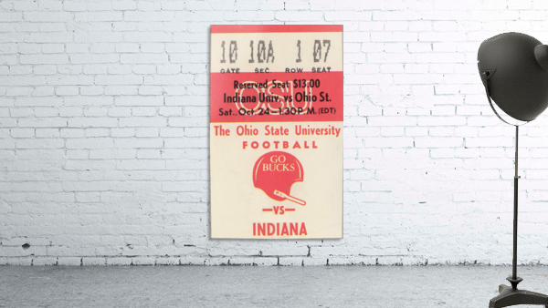 1981 Ohio State vs. Indiana