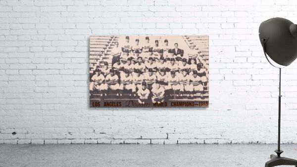 1959 Los Angeles Dodgers Team Photo