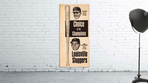 1969 Louisville Slugger Pete Rose Ad
