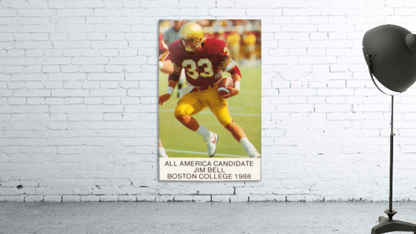 1988 Boston College Football Poster