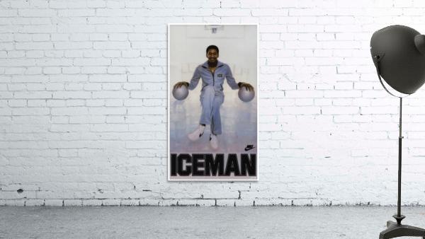 1982 George Gervin Nike Iceman Poster