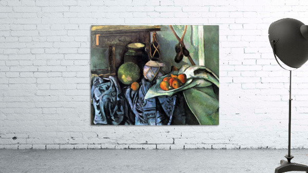 Still life with Eggplant by Cezanne