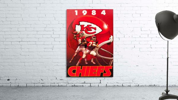 1984 Kansas City Chiefs Football Poster