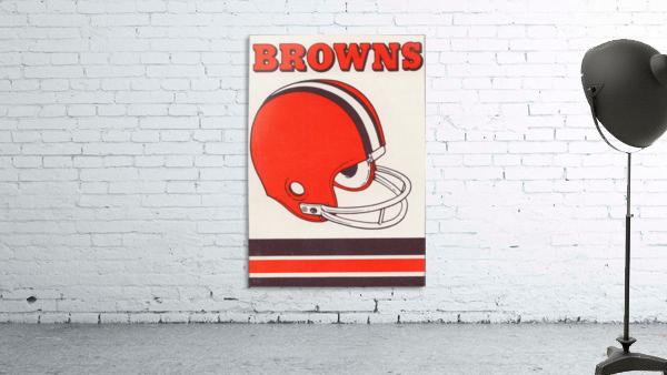 1975 Cleveland Browns Helmet Art