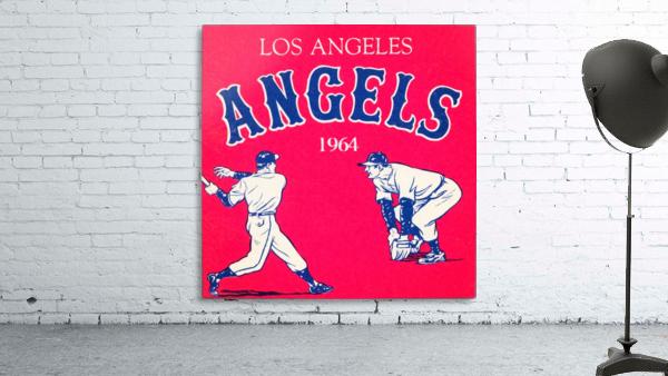 1964 Los Angeles Angels Baseball Art