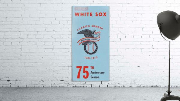 1975 Chicago White Sox Retro Poster