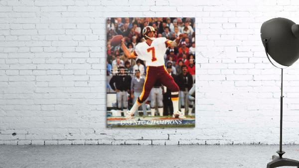 1983 Washington Joe Theismann Poster