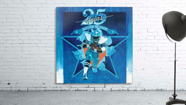 1984 Dallas Cowboys Silver Season Art