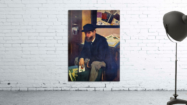 The Amateur by Degas
