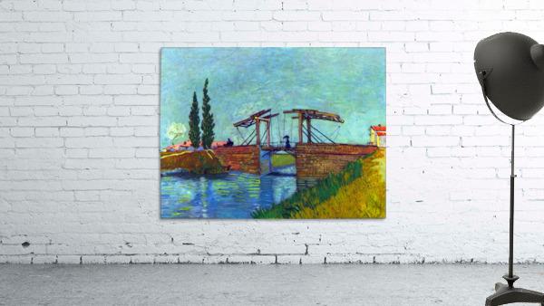 The Anglois Bridge at Arles (The drawbridge) by Van Gogh
