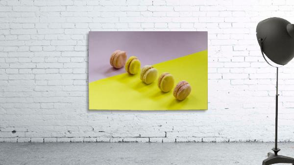 food macaroon photography