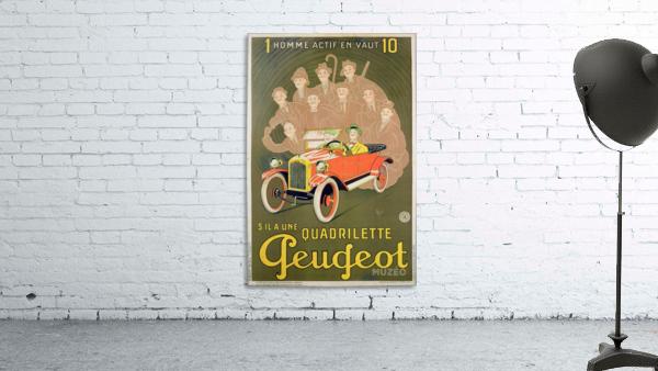 Quadrilette Peugeot