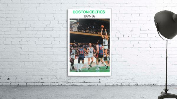 1987 Boston Celtics Larry Bird Poster