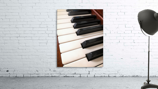 Piano Keys One Octave Plus