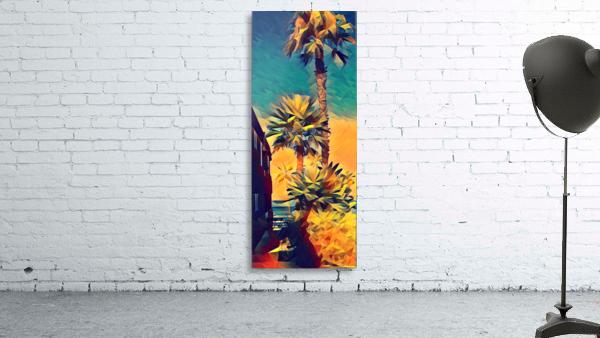 manhattan beach palm trees