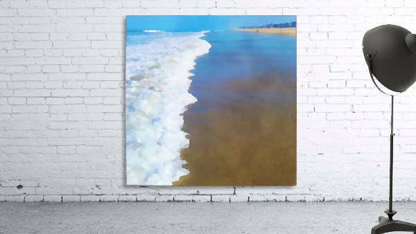 manhattan beach watercolor