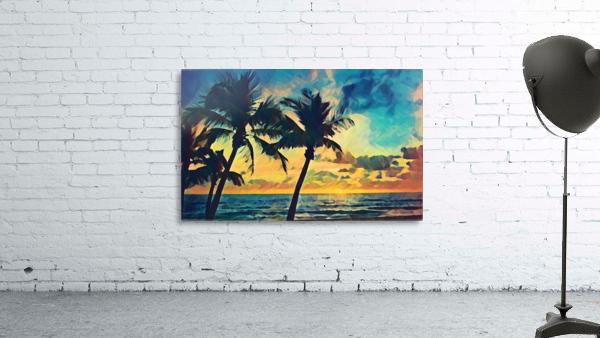 florida palm trees art