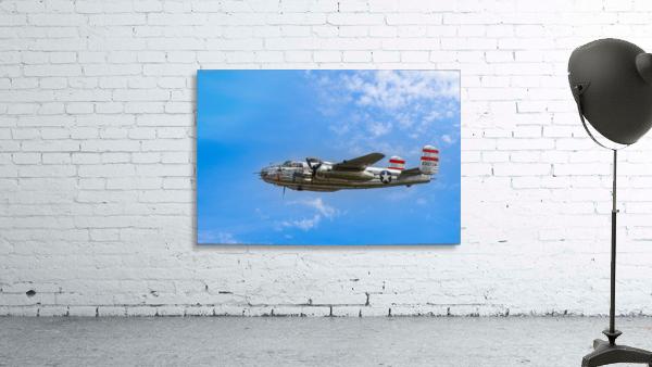 Panchito B25 In Flight