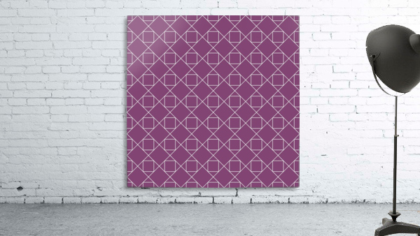 Light Purple Squares And Diamonds Pattern