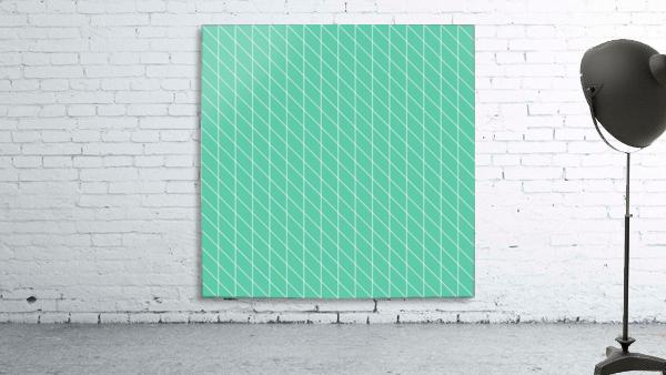 Aquamarine Checkers Pattern