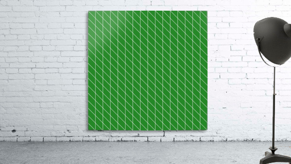 Green Checkers Pattern