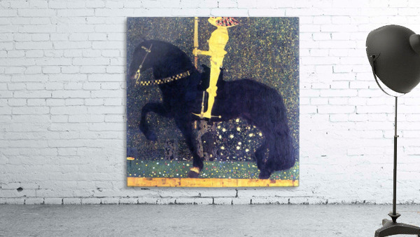 The life of a struggle (The Golden Knights) by Klimt