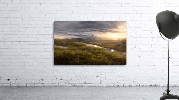 Landscape with river 1