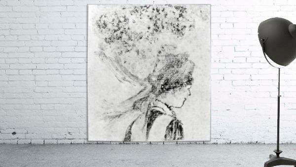 The nurse by Degas