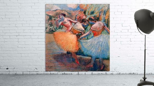 Three dancers 1 by Degas