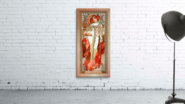 LAutomne by Alphonse Mucha Old Masters Reproduction