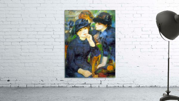 Two Girls by Renoir