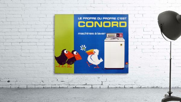 Original Appliance Poster, Conord Birds, 1960